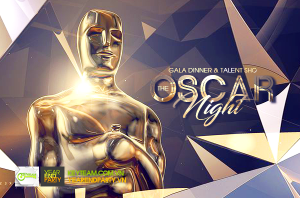 y tuong year end party oscar night