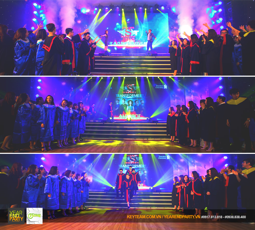 year end party 2018 standard chartered